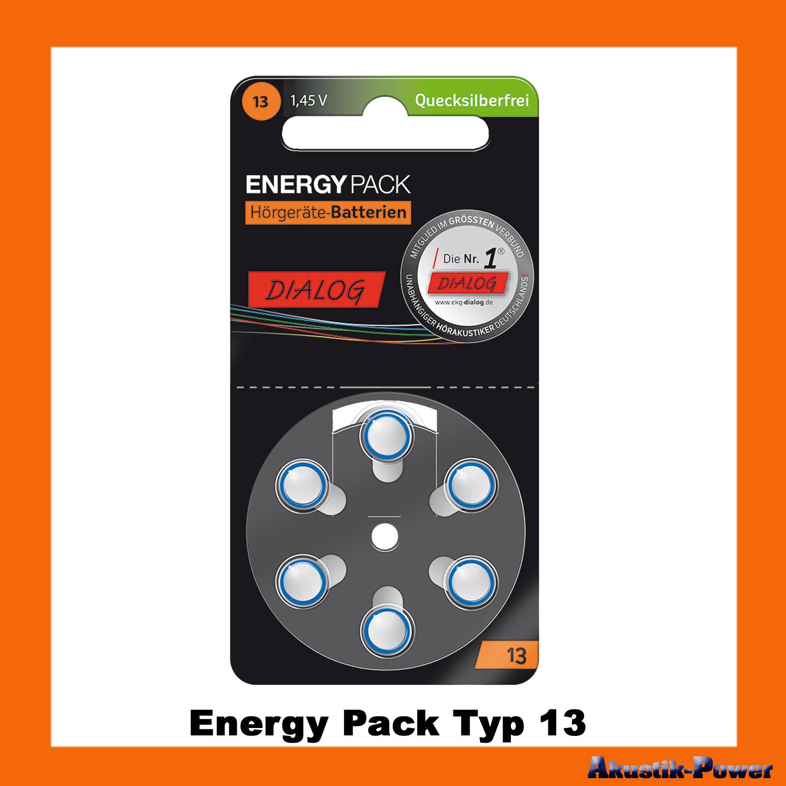 akustik power energy pack typ 13 pr48 a13 h rger te batterien online kaufen. Black Bedroom Furniture Sets. Home Design Ideas